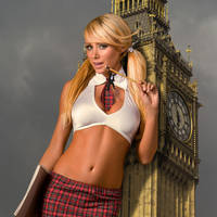Sara Jean Underwood in London by Accasbel