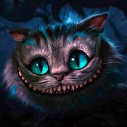 Tim Burton's cheshire cat by kosakonk