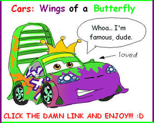 Cars Vid: Wings Of A Butterfly by Candy-Coupe