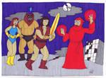 Thunderek the Barbarian by EmperorNortonII