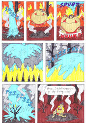 Rubina and the Forest Fire Page 4 by EmperorNortonII