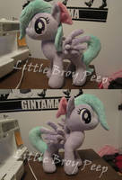 My little pony Flitter plush by Little-Broy-Peep