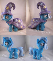 mlp Filly trixie plush by Little-Broy-Peep