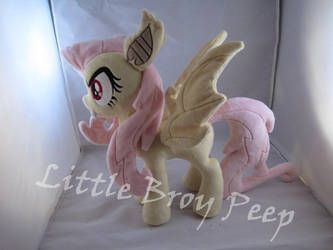 mlp Flutterbat Plush (commission) by Little-Broy-Peep