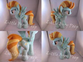 my little pony Lightning Dust plush by Little-Broy-Peep