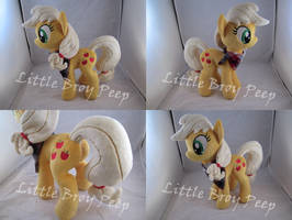 my little pony Applejack plush by Little-Broy-Peep