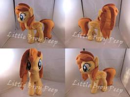 MLP OC Graceful Sunrise Plush (commission) by Little-Broy-Peep