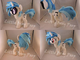 MLP Vinyl Scratch Plush by Little-Broy-Peep