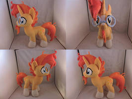 MLP Sunburst Plush by Little-Broy-Peep