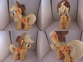 MLP Applejack Plush by Little-Broy-Peep