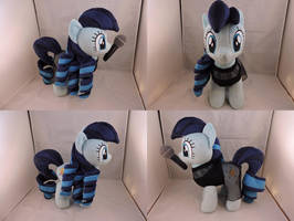 MLP Rara Plush (commission) by Little-Broy-Peep