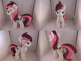MLP Roseluck Plush (commission) by Little-Broy-Peep