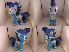 MLP High Winds Plush (commission) by Little-Broy-Peep