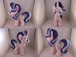 MLP Starlight Glimmer Plush (commission) by Little-Broy-Peep