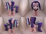 MLP Aria Blaze Plush (commission) by Little-Broy-Peep