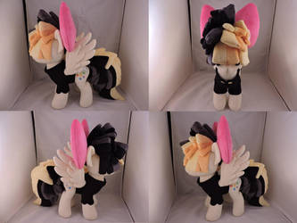 MLP Songbird Serenade Plush (commission) by Little-Broy-Peep