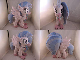 MLP Silverstream Plush (commission) by Little-Broy-Peep