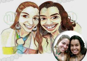Gilze and Vanessa by Erulindya