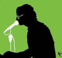 John Lennon x3 by Roska-lopez