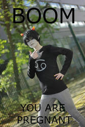 Karkat - And now you are pregnant by felilovespasta