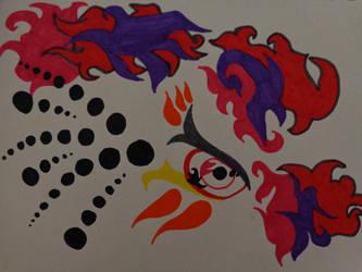 Color Pop Naruto by lionofdeath