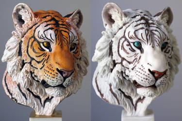 Tiger in Resin by IgorGosling