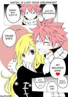 ~~Natsu and Lucy~~ by AyuMichi-me