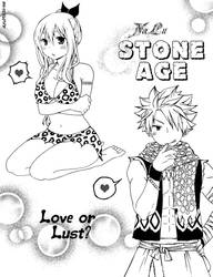 NaLu Stone Age by AyuMichi-me