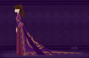 Royal Dress Design by thepurpah