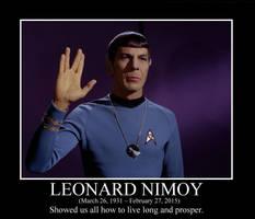 Leonard Nimoy Tribute by squirrelismyfriend