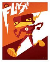 kid flash by strongstuff