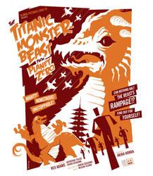 titanic monster beast poster by strongstuff