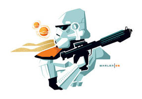 stormtrooper minibust by strongstuff