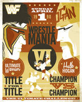 wrestlemania VI commission by strongstuff