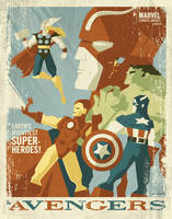 avengers poster by strongstuff