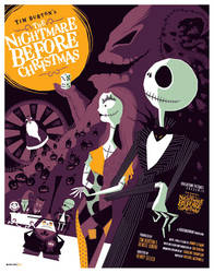nightmare before christmas by strongstuff