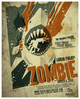 zombie poster by strongstuff
