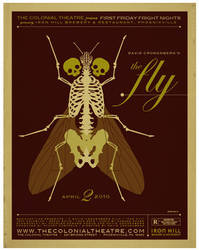 the fly poster by strongstuff