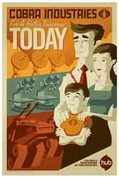 cobra propaganda poster by strongstuff