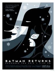 batman returns poster by strongstuff