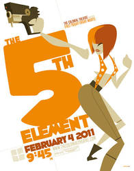 fifth element poster by strongstuff