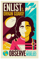 mork poster by strongstuff