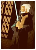obi-wan kenobi commission by strongstuff