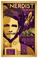 'nerdist' gig poster by strongstuff