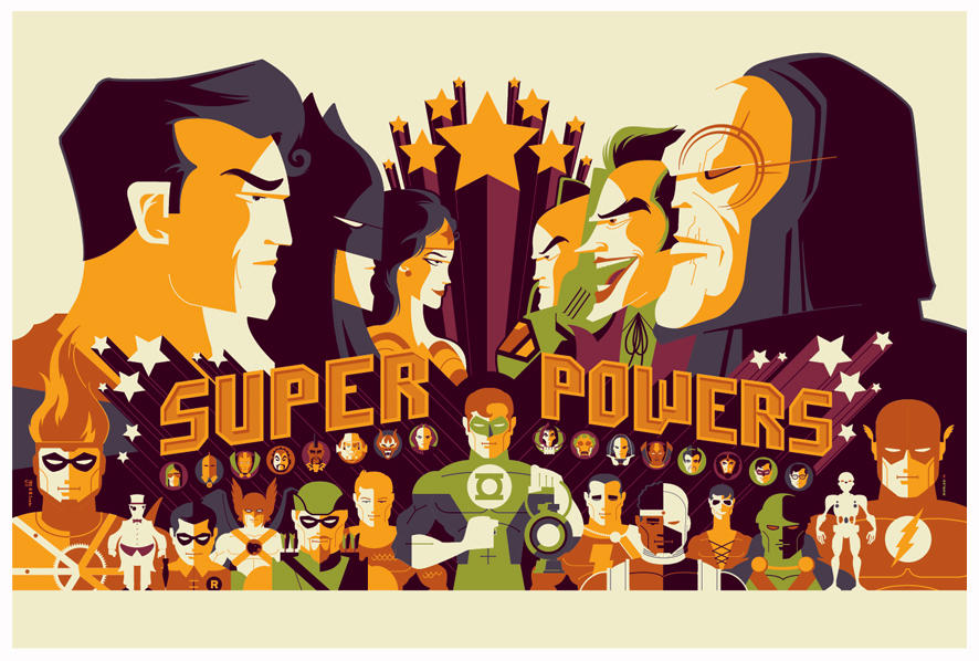 mondo: DC super powers by strongstuff