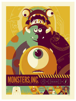 mondo: monsters inc. by strongstuff