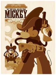 mondo: two-gun mickey variant by strongstuff
