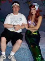 Meeting Ariel - 7/3/08 by PeterSFay