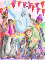 Disney Character Breakfast by PeterSFay