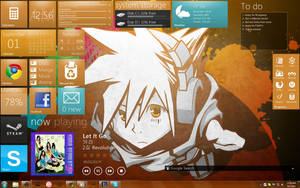 My desktop by hizachan